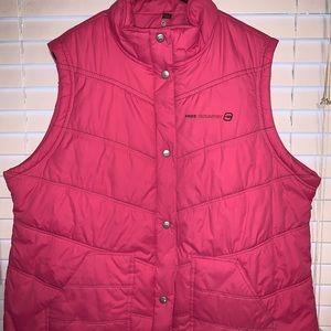 Plus Size Pink Puffer Vest